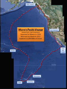 Murre's Voyage Map (click to enlarge)