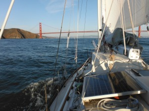Returning to the Golden Gate Bridge